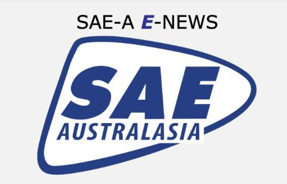 Welcome to the SAE-A's E-News. This publication augments the quarterly VTE magazine by providing members with the latest news in a format that allows it to be passed on via email.
